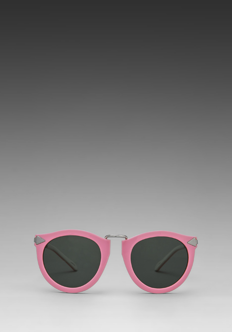 KAREN WALKER Harvest in Fluro Pink/Tan/White at Revolve Clothing - Free Shipping!