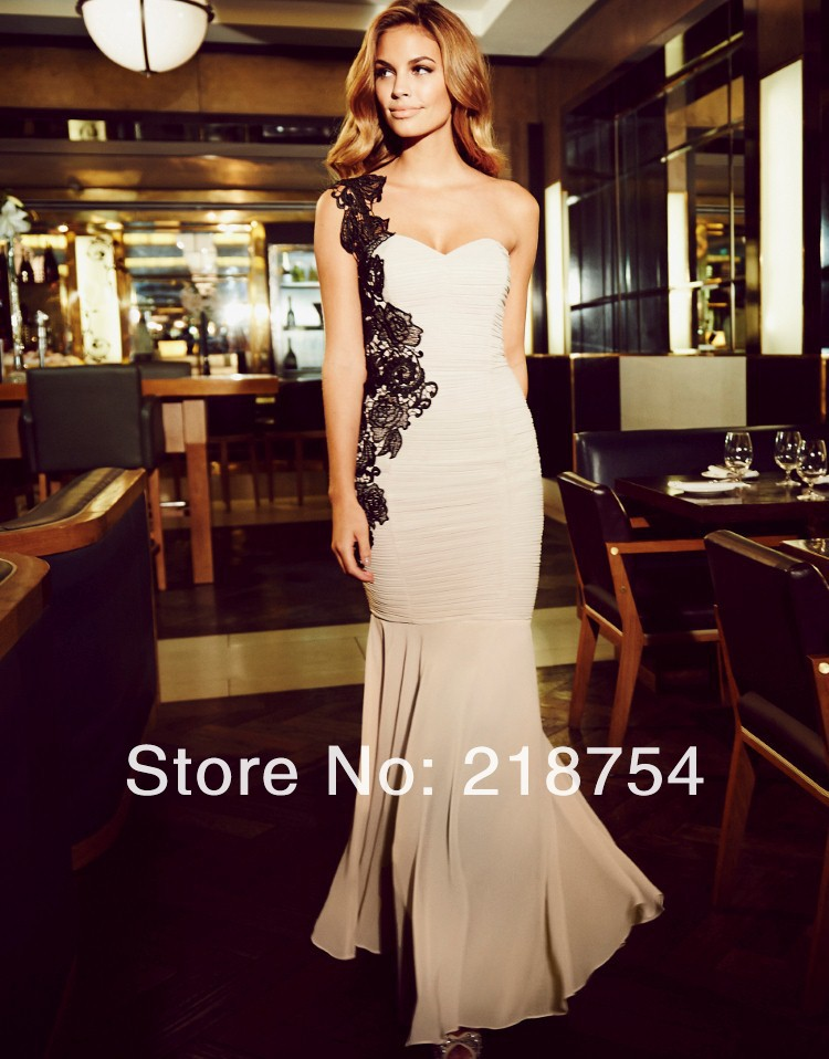 Aliexpress.com : Buy Formal Sweetheart Straight Champagne Chiffon Pleats Floor Length One Shoulder Wedding&Events Formal Evening Dresses Prom Gown from Reliable dress sox suppliers on Lhasa Roland_love