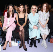 dress,pants,alexa chung,rose leslie,ny fashion week 2017,fashion week 2017,Christina Ricci,emily ratajkowski,nyfw 2017