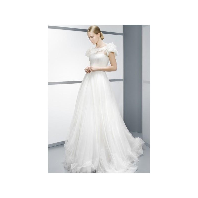 vestido de novia de jesús peiró modelo 4083 (16) - 2015 princesa con