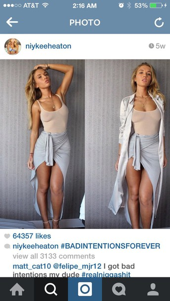 skirt niykee heaton top
