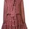 Alexis 'elida' dress, women's, size: xs, red, silk