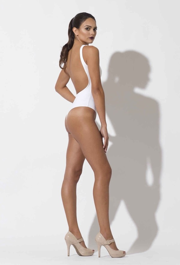 top white leotard tight backless bodysuit backless leotard tight fitting bodysuit stretchy backless dance