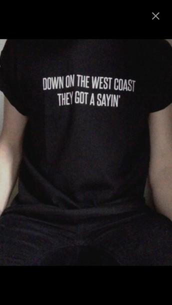 shirt lana del rey lyrics shirt west coast black