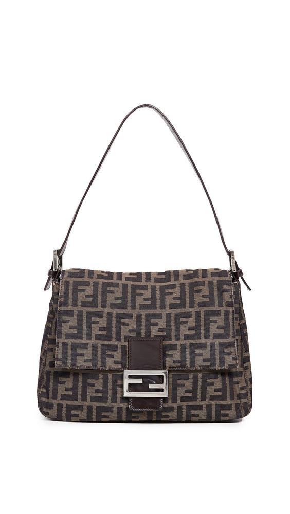 What Goes Around Comes Around Fendi Mama Zucca Bag in brown