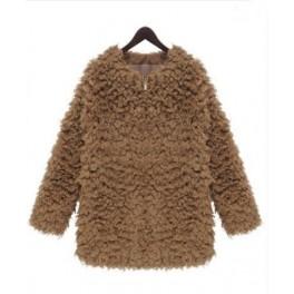 Cozy faux coat