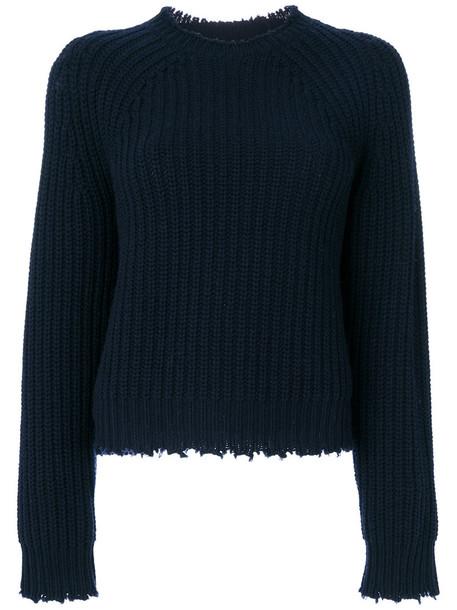 Zadig & Voltaire jumper women blue wool sweater