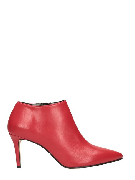 Marc Ellis leather ankle boots ankle boots leather red shoes