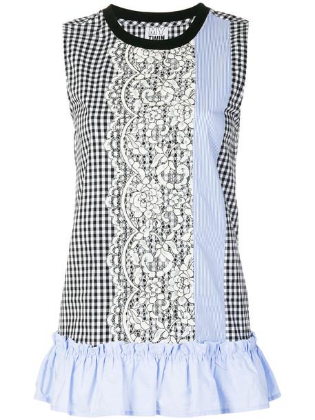 Twin-Set top women spandex cotton