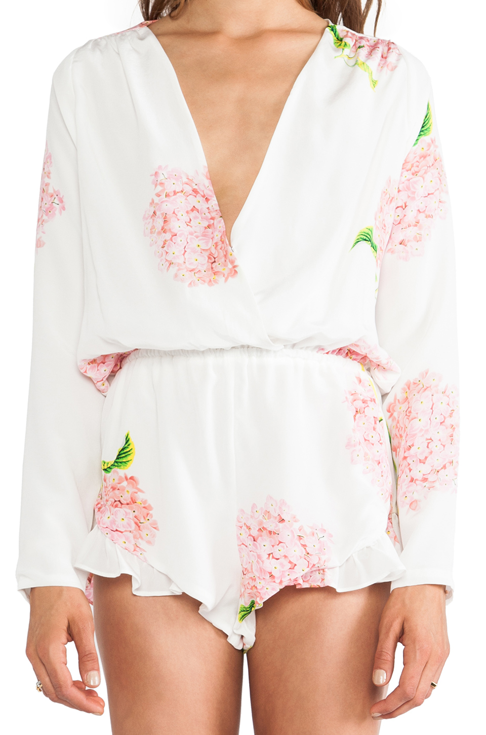 STONE_COLD_FOX Love Jumper in White Bloom | REVOLVE