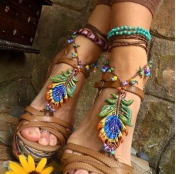 shoes boho barefoot shoes