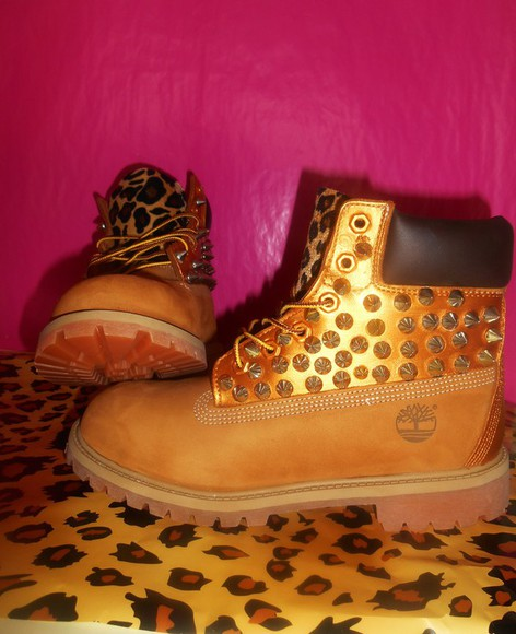 shoes timberlands spike leopard print silver spike timberlands studded timberlands spiked timberlands