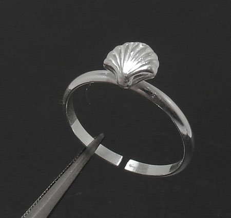 Adjustable Nautical Sea Shell Toe Ring Sterling Silver | eBay