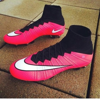 shoes boots nike football pink new sport