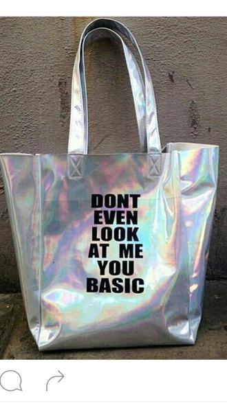 bag grey silver fashion fashionista fashionistaa black