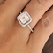 I do princess cut sterling silver ring