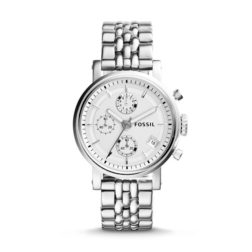 Boyfriend chronograph stainless steel watch