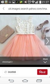 dress,top and pink tutu
