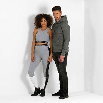 leggings maniere de voir banded mesh sportswear luxe