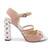 4 inch Heels - Pink Leather Heels