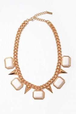 Charmed Arrow Collar Necklace