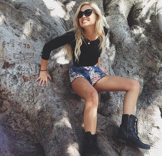 shorts olivia holt shirt shoes jewels brand shop