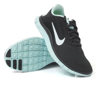 mint shoes nike free run black fitness