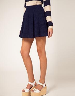 1bc396f4bf2f Jupe bleu marine femme jupe longue d hiver