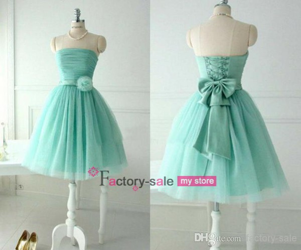 dress dress short prom dress mint homecoming dress party dress short knee length dress bridesmaid
