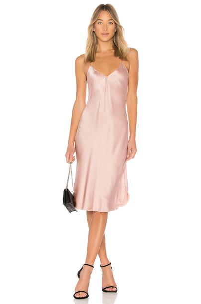 Nili Lotan dress short pink