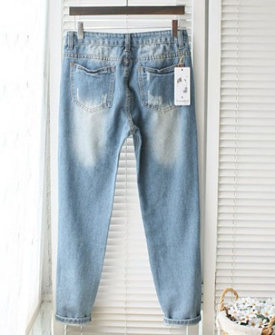Distressed Skinny Jeans - Jeans - Bottoms - Clothing