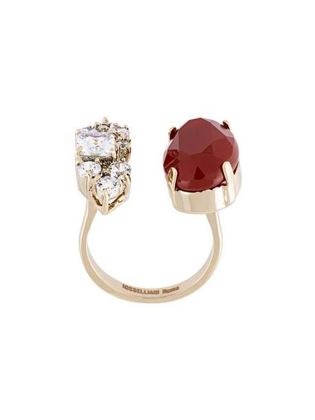 IOSSELLIANI open metallic women ring jewels
