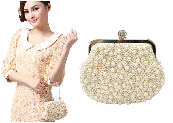 bag mini bag mini bag handbag chanel purse handmade bag beaded ball gowns beaded clutch white bag evening bag wedding clutch bridal gown wedding accessories couture handbag chic designer shoulder bag branded bag chanle style bag