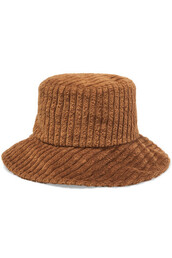 hat,bucket hat,brown