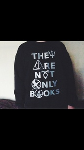 jacket,sweater,divergent,the hunger games,percy jackson,harry potter,the mortal instruments