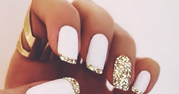 Top 10 Simple Ways to Spice Up White Nails – Top Inspired