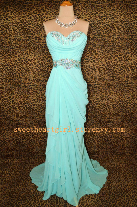 Sweetheart Girl | Fashion Sweetheart Ice blue prom dress/graduation dress | Online Store Powered by Storenvy