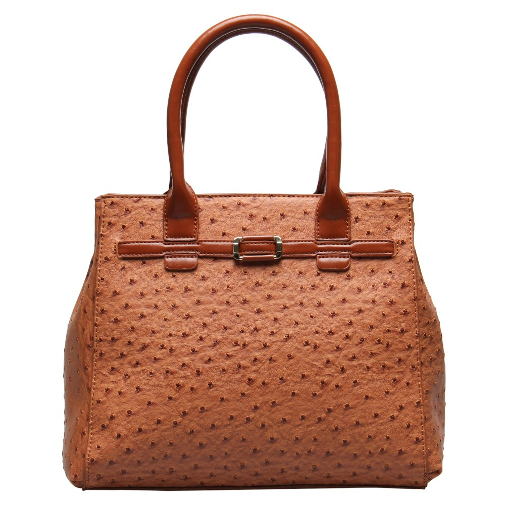Luxurious style ostrich pattern tote bags for women