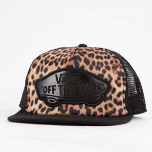 Vans leopard womens trucker hat review