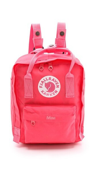 mini backpack pink peach bag