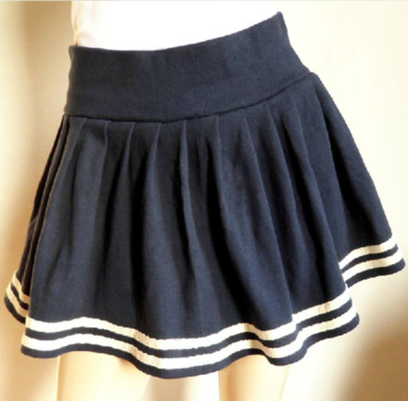 dress skirt navy bottom mini skirt