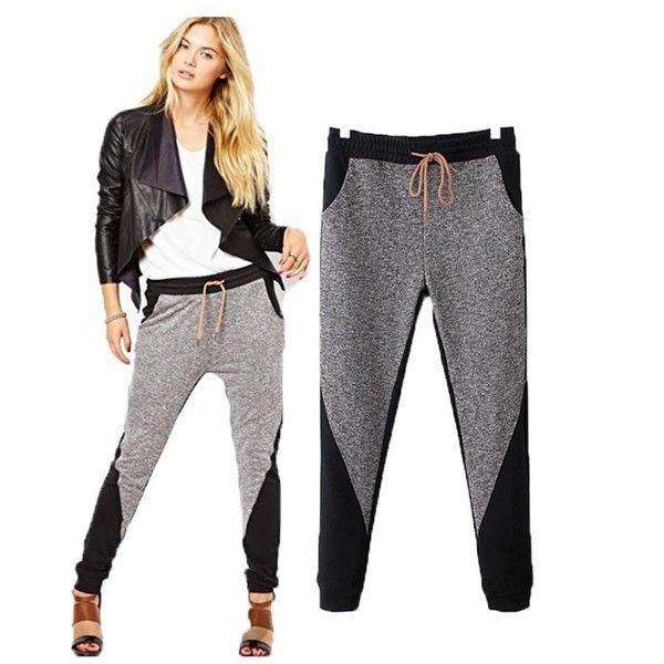 pants grey jeans harem harem pants