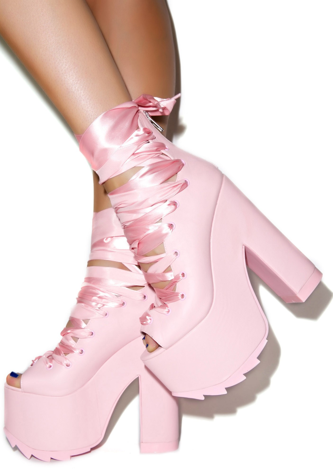 Y.R.U. Ballet Bae Platforms | Dolls Kill