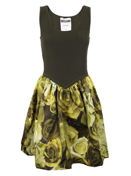Moschino dress floral dress floral