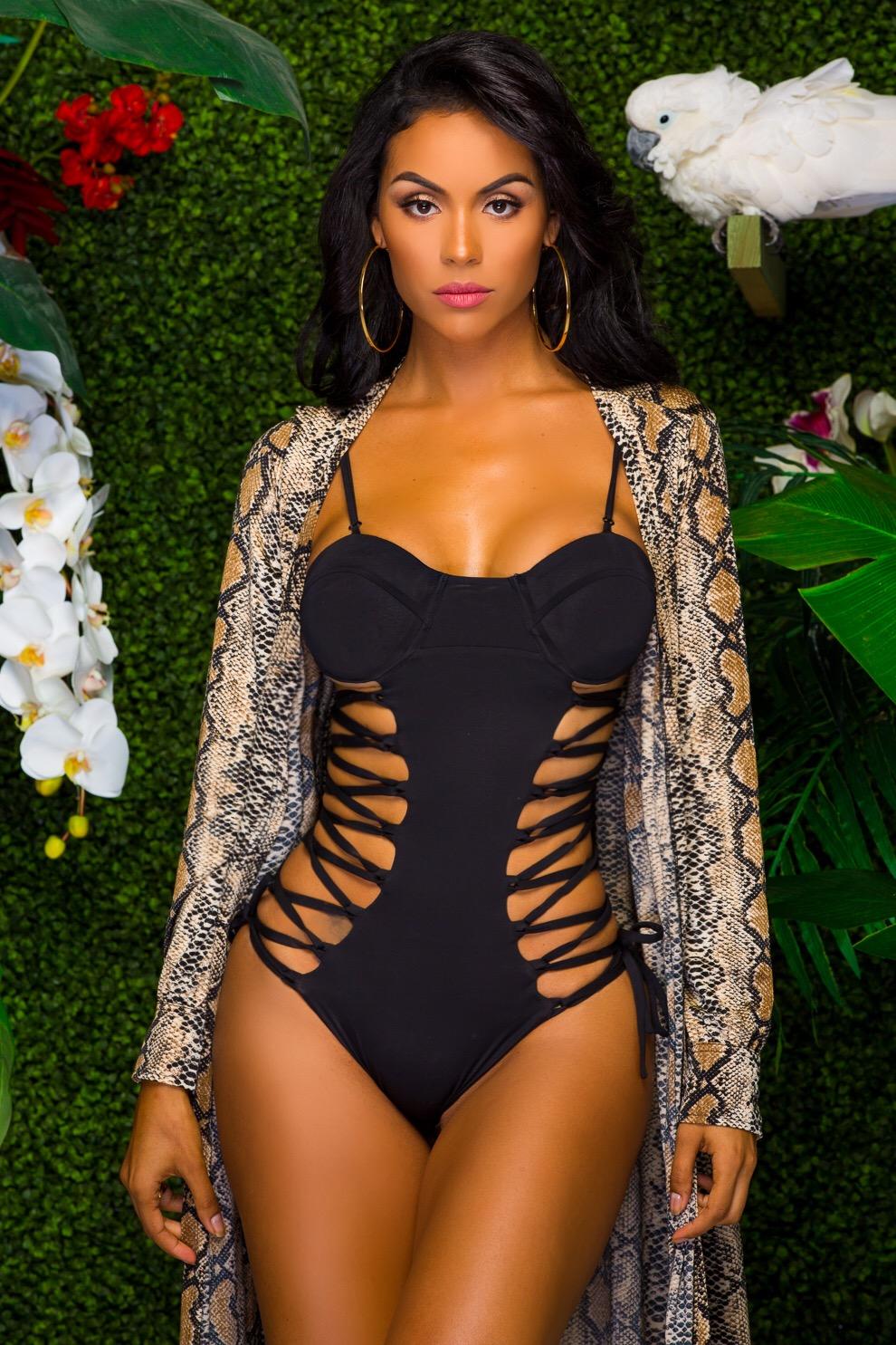 aeb2b8841fd Criss Cross Romance Monokini – OMG Miami Swimwear