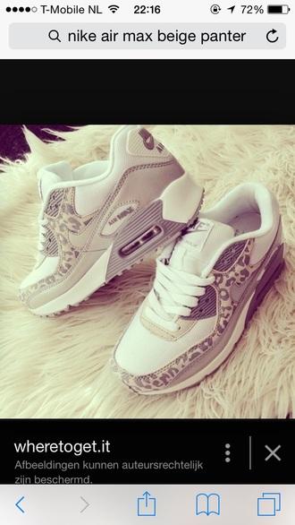 shoes leopard print air max love