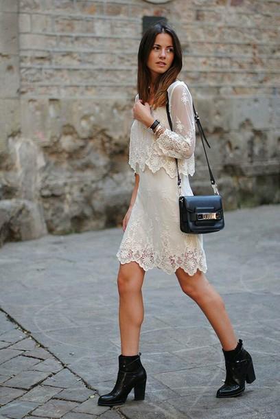 dress lace dress boho dress ball gown dress white lace dress