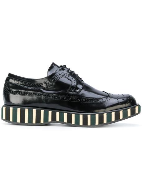 PALOMA BARCELÒ women leather black shoes