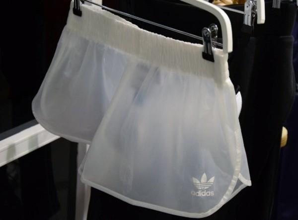 shorts adidas sheer dope tumbkr tumblr grunge streetwear swag athletic transparent hipster vogue