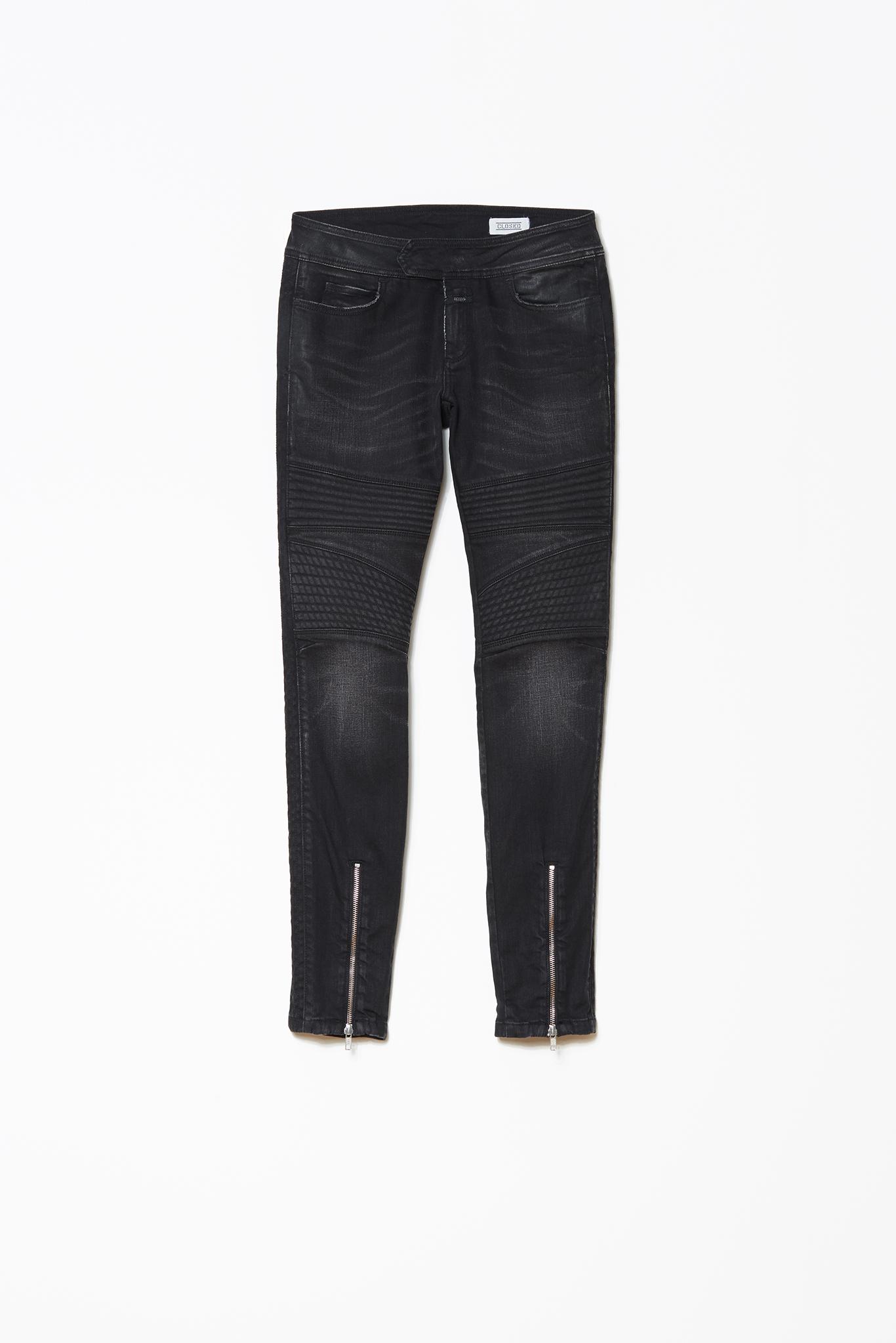 Closed | Ivy Skinny-Leg Waxed Denim-Pants | Shop